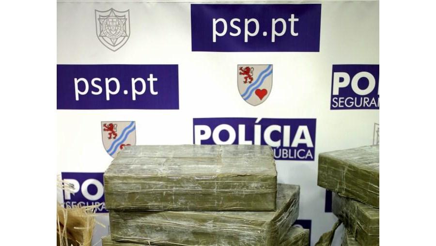 PSP do Porto apreendeu 172 quilos de haxixe