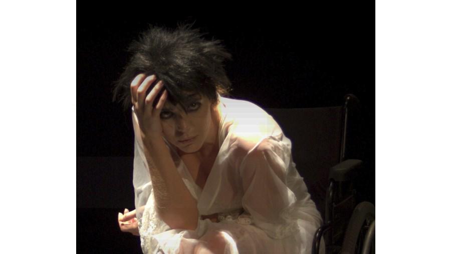 A actriz Margarida Moreira, na foto, é uma das protagonistas de 'A Culpa', peça de Peter Pina que o próprio encenou e também interpreta