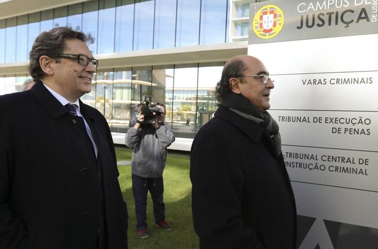 António Sala e José Capristano foram ouvidos como testemunhas
