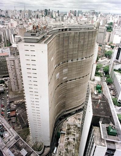 Edifício Copan, o maior da América Latina com 1600 apartamentos