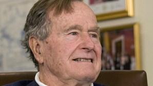 George H. W. Bush tem alta hospitalar