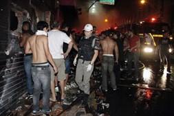 Desolação foi o sentimento mais comum na noite de sábado na cidade de Santa Maria