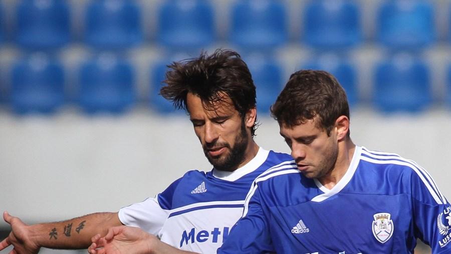 Belenense Clayton (à esquerda) tenta desarmar Ferreira