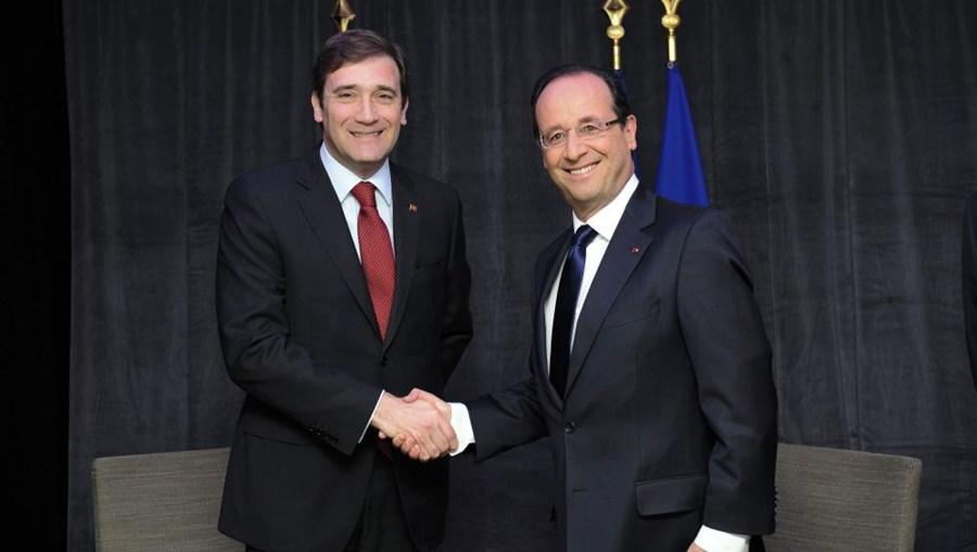 Passos Coelho reúne com Hollande na próxima quinta-feira, em Paris