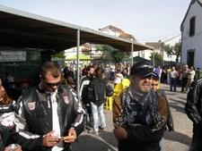Apesar de ser padre, José Fernando sempre se vestiu a rigor quando andava de mota.