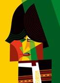 Pablo Lobato. cartoonista argentino, venceu o primeiro prémio na categoria de caricatura com o desenho 'Evo Morales', publicado na revista chilena Qué Passa
