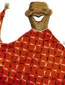 Jarbas. cartoonista brasileiro, ganhou o segundo prémio na categoria de caricatura com o desenho 'Mandela', publicado na revista brasileira Diario de Pernambuco