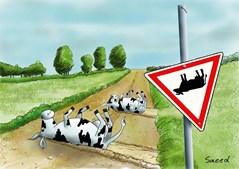 Saeed. cartoonista iraniano, ganhou o primeiro prémio na categoria de desenho de humor com o desenho 'Recessão económica', publicado na revista iraniana Jam-e-Jam