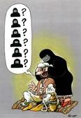 Rousso. cartoonista francês, venceu o segundo prémio na categoria de desenho de humor com o desenho 'Quem é?', publicado na revista francesa Barricade