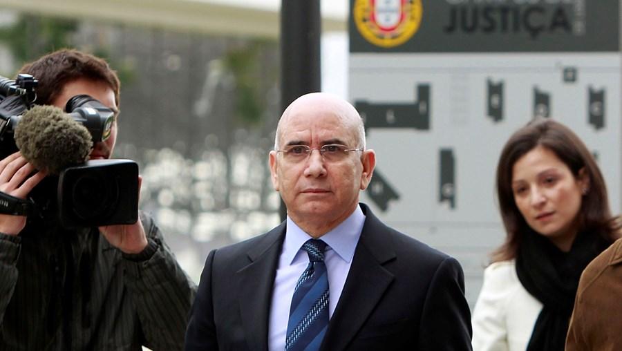 Duarte Lima, à chegada ao tribunal