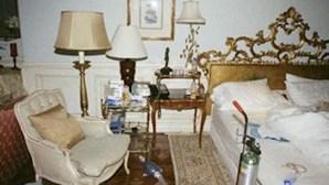 Veja o quarto de Michael Jackson logo após morrer