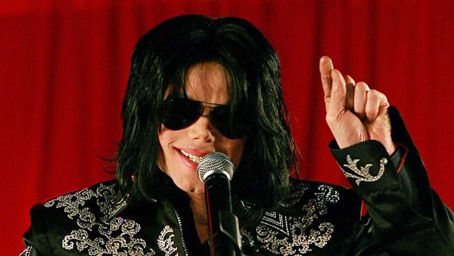 Michael Jackson na conferência de 5 de março de 2009