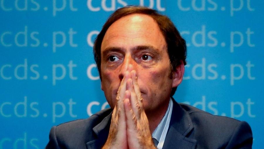 A crise política está a castigar o CDS-PP