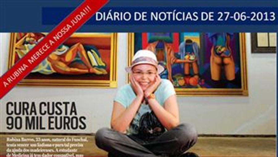 Imagem que o 'Diário de Notícias da Madeira' usou para mobilizar leitores para a solidariedade