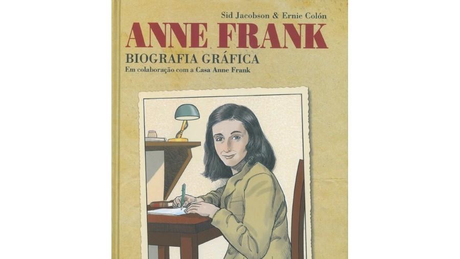 Capa do livro 'Anne Frank - Biografia Gráfica'