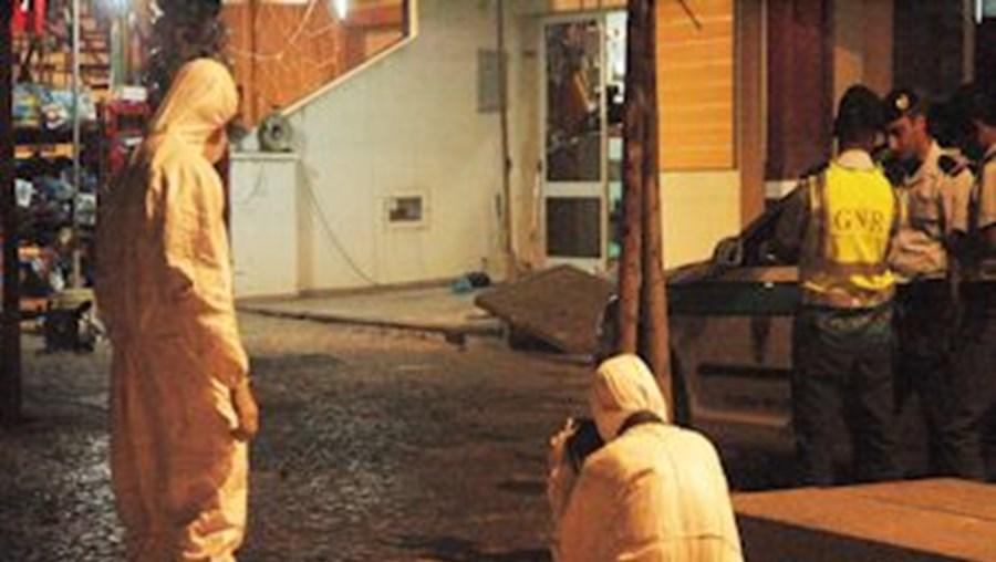 GNR capturou agressor e Polícia Judiciária recolheu vestígios no local do crime