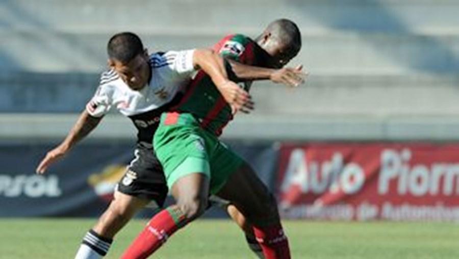 Sami, autor do segundo golo, foi um quebra-cabeças constante para a defesa do Benfica
