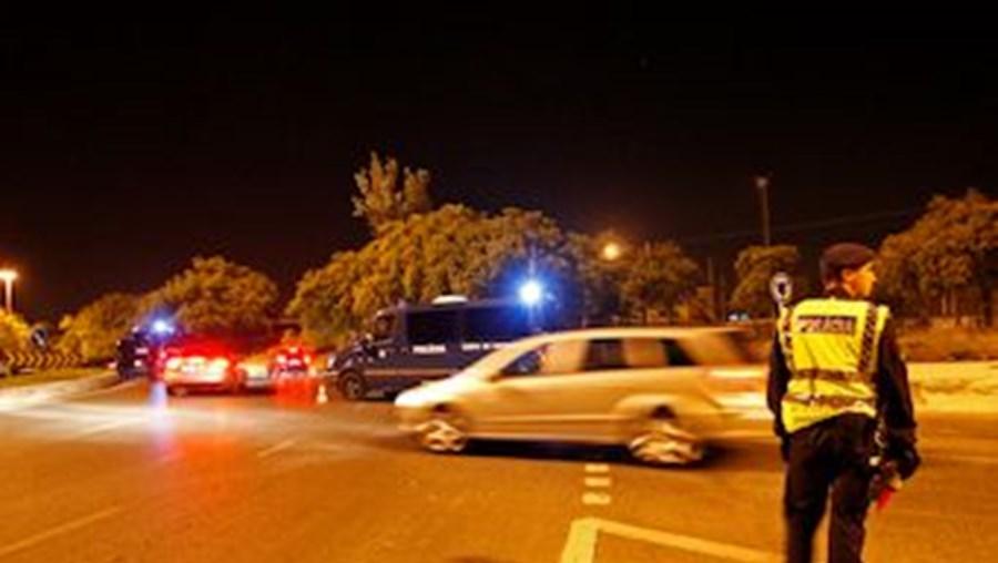PSP tem itntensificado a fiscalização de condutores durante as madrugadas