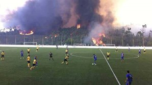 Fogo ameaça jogo da Taça de Portugal