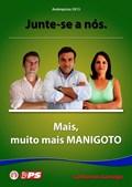 Candidato socialista de Manigoto não poupa na intensidade quando chega a hora de apelar ao eleitorado