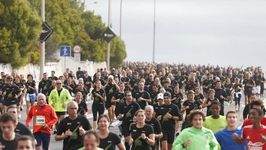 Marginal entre Algés e Oeiras recebeu mais de 10 mil pessoas na 33ª edição da Corrida do Tejo