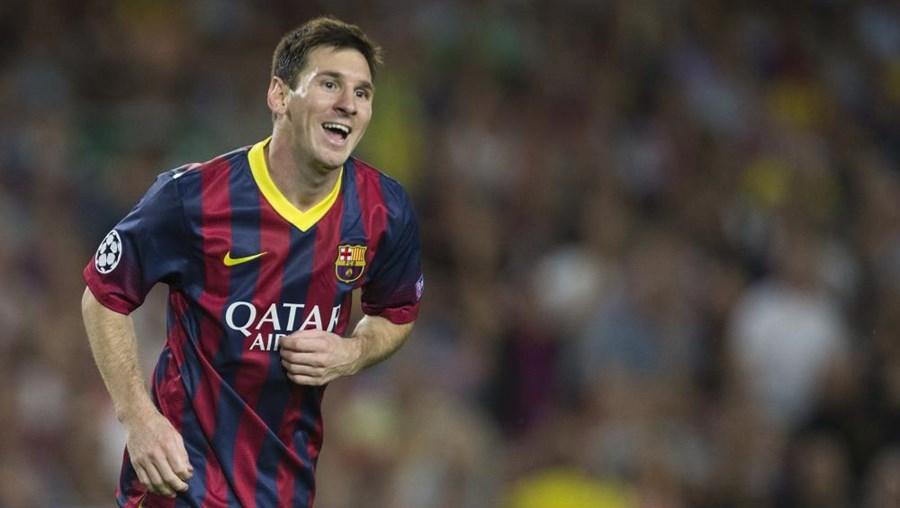 Lionel Messi marcou oito golos em seis jogos