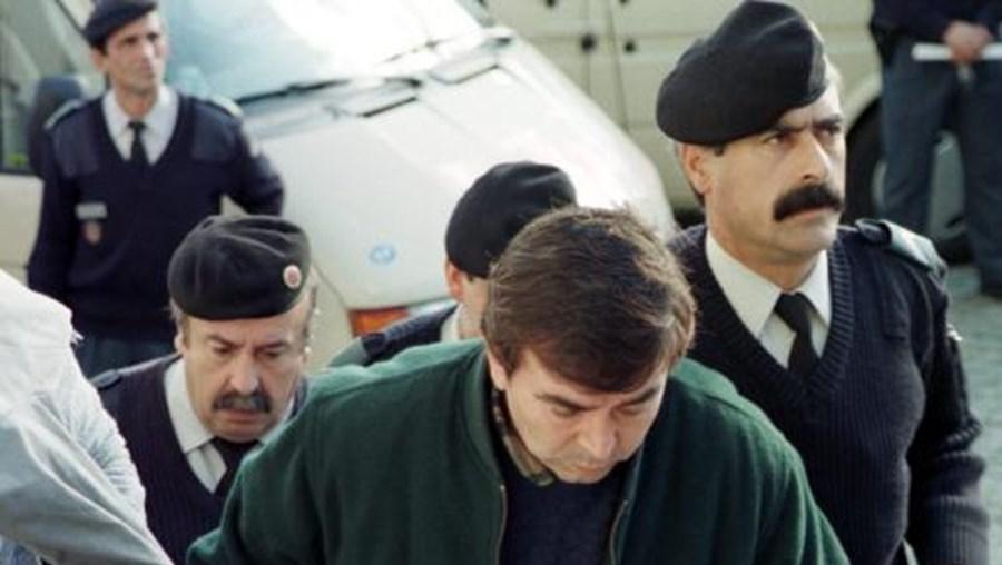 José Queirós durante o julgamento no Tribunal de Amarante
