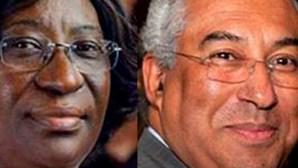 António Costa disfarçado de mulher em ação de espionagem em Angola