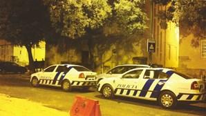 Polícia em casa de Bárbara Guimarães