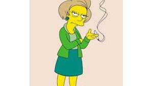 Morreu a professora dos Simpsons