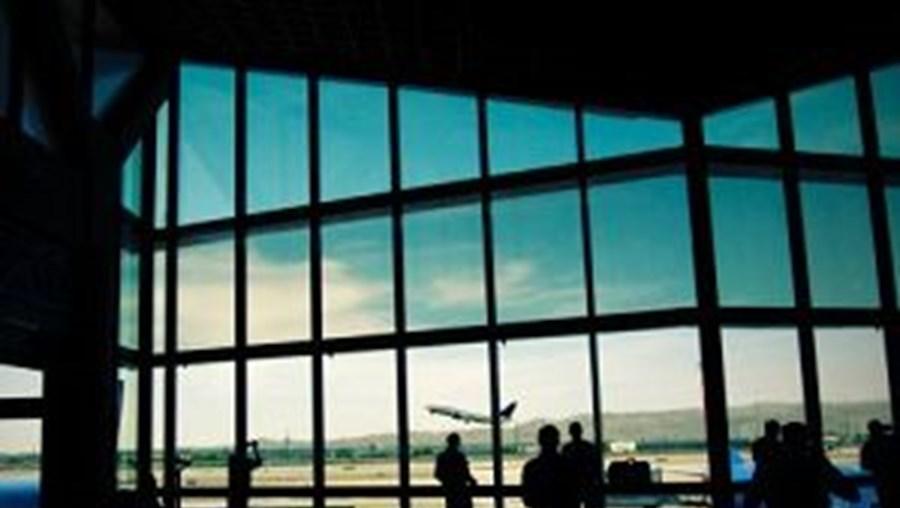 Aeroporto de Phoenix, onde o avião foi obrigado a aterragem de emergência