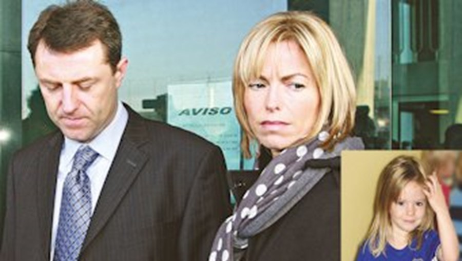 Kate e Gerry McCann dizem que investigação a suspeito que já morreu é pura especulação. Caso Maddie foi reaberto há uma semana