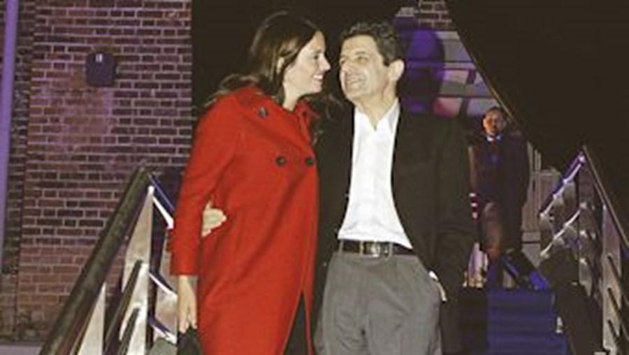 O casal celebrou união em 2001