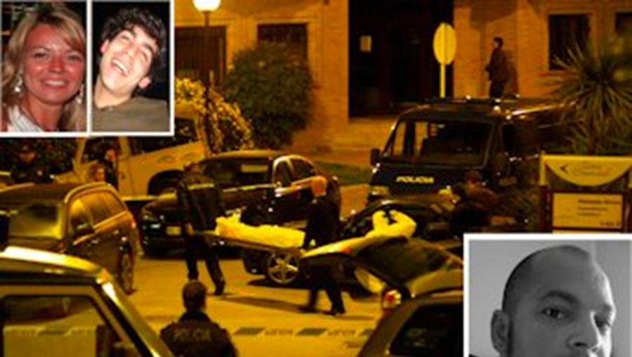 Testemunha viu homicida segundos depois de matar Alexandra Neno, em Sacavém, em 2008. Alexandra Neno(cima) e Diogo Ferreira (cima à dir.), foram assassinados a tiro por Paulo Almeida