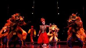 Viagem à magia do Cirque du Soleil