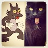 Jack Gepetto também faz lembrar a personagem Scratchy da série 'Os Simpson'