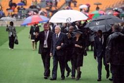 Frederik Willem de Klerk, ex-presidente da África do Sul