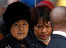 Winnie Mandela, ex-mulher de Nelson Mandela