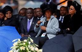 Graça Machel, mulher de Mandela