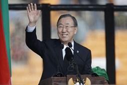 Ban Ki-moon, secretário geral das Nações Unidas