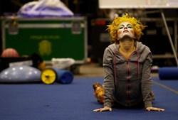 Marina Vorobyeva, 26 anos, chegou ao circo por acaso. Nascida em São Petersburgo, Rússia, iniciou-se na ginástica de competição