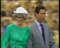 Princesa Diana e Príncipe Carlos