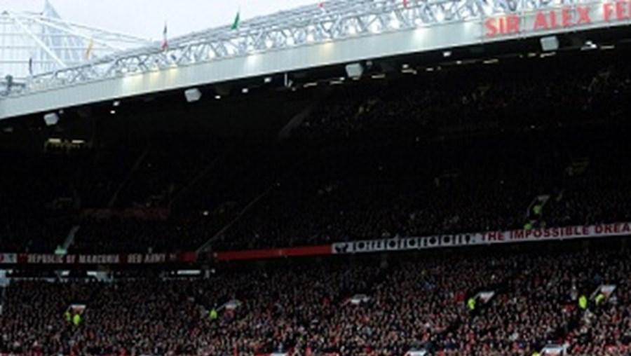 Jogo entre Manchester United e Newcastle