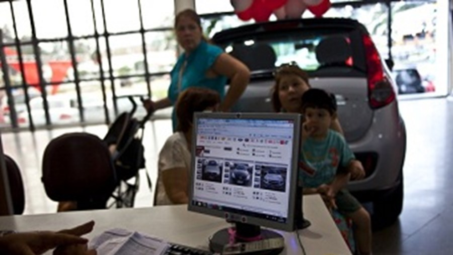 Brasil bateu recordes no fabrico de automóveis