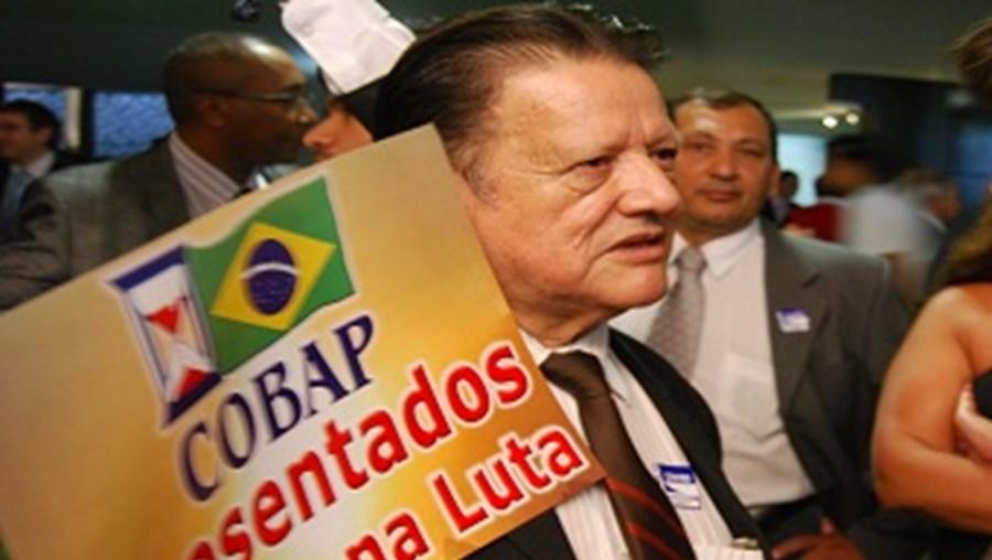 Nelson Osório, diretor da Confederação Brasileira de Aposentados e Pensionistas