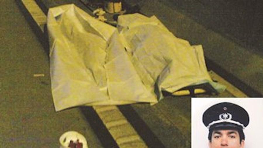 Agente Guilhermino Lopes Correia foi atingido mortalmente.