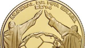 Moeda do Mundial de Futebol lançada a 30 de janeiro