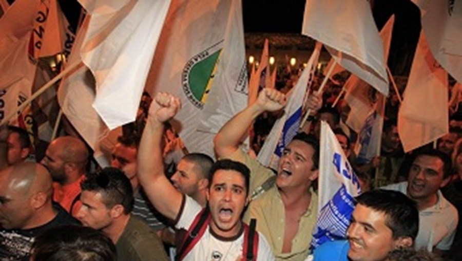 manifestação, protesto, GNR, indignação