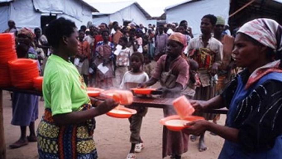 Milhares de pessoas foram forçadas a abandonar Angola durante o conflito armado do país