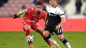 Benfica empata a um golo em Barcelos